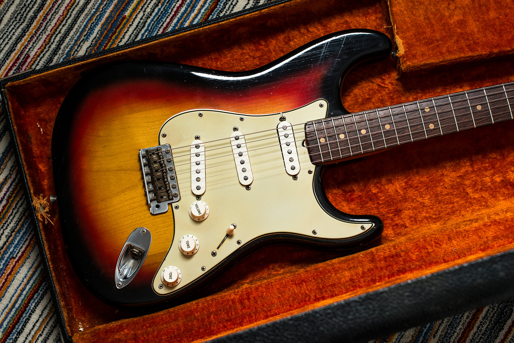 Jeff Garlin's 1964 Stratocaster Body