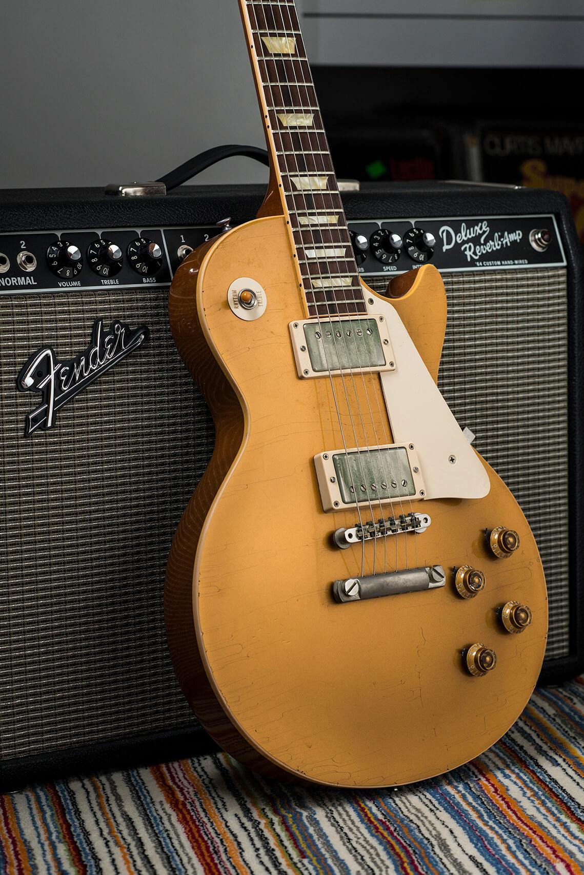 Jeff Garlin's Gibson Les Paul Goldtop Body