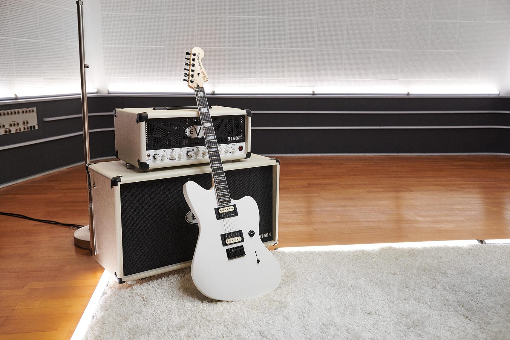 Jim Root's Jazzmaster w EVH Amp