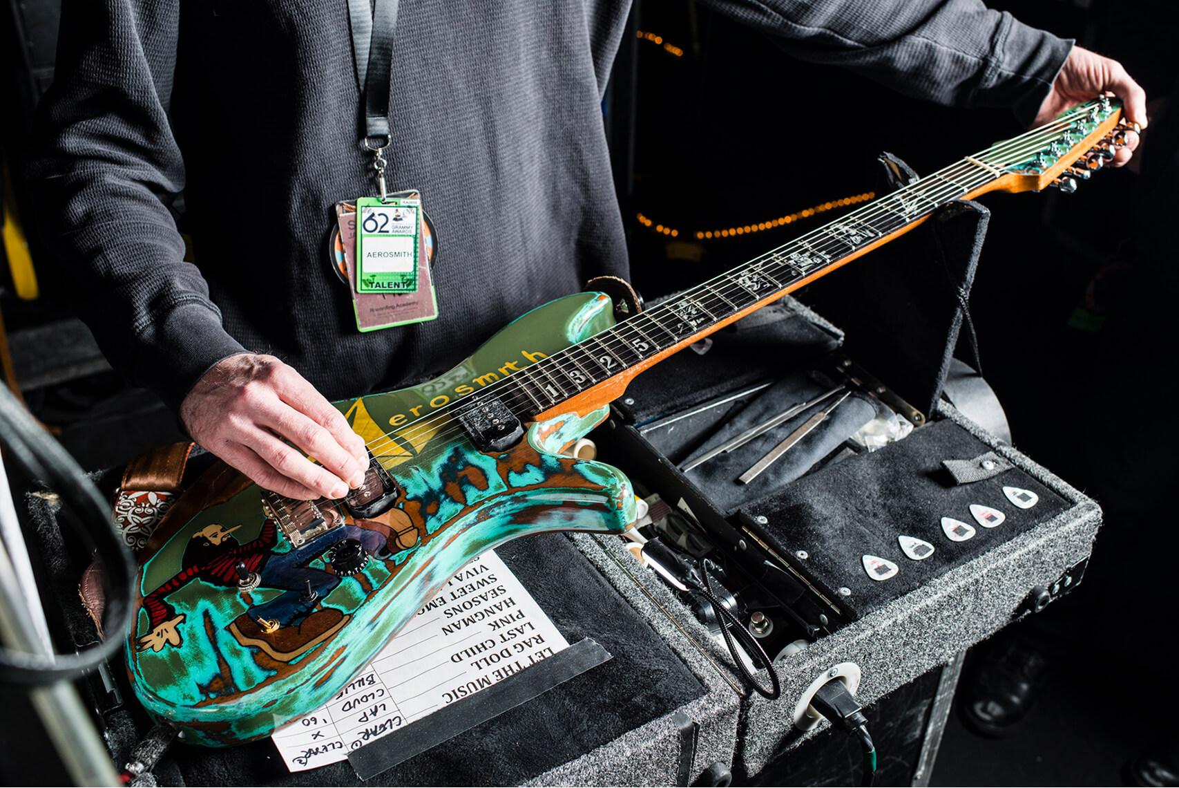 Joe Perry Made On Earth Guitar