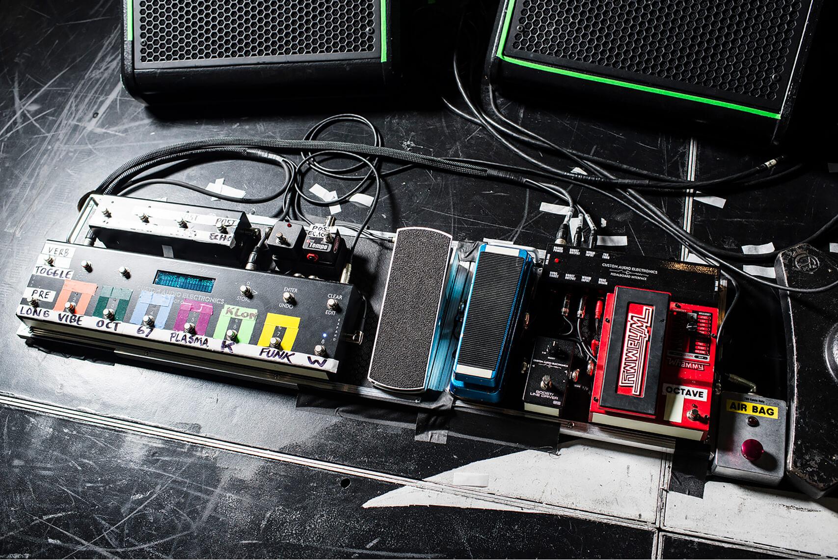 Joe Perry pedal board