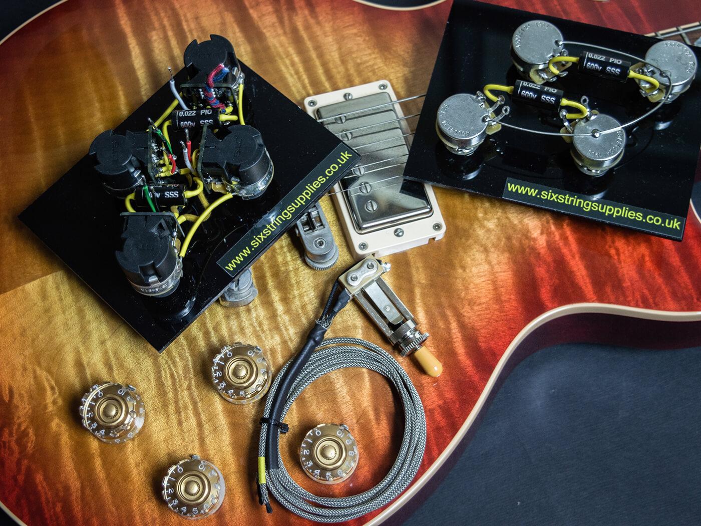 DIY Workshop: How to rewire a Les Paul | Guitar.com | All Things GuitarGuitar.com