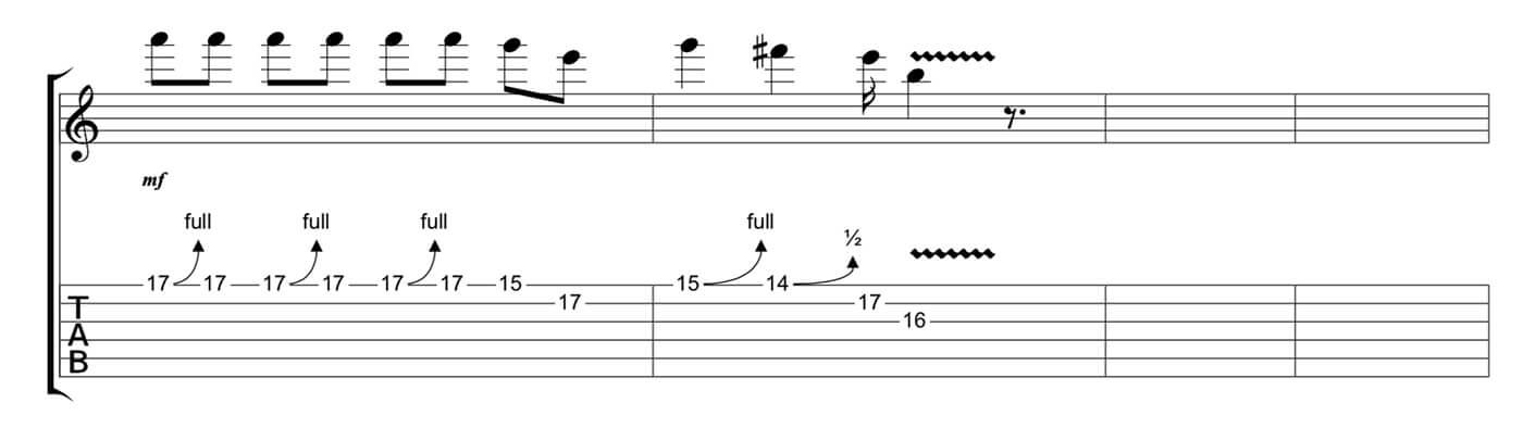 Play Blues Like Jared James Nichols Lick 4