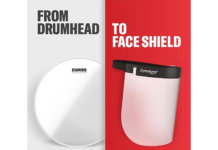 From drumhead to face shield