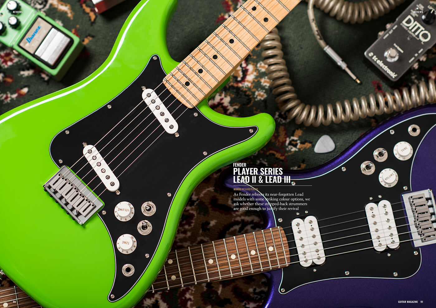 Fender Player Lead II & III