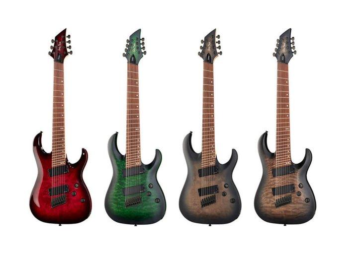 Harley Benton's MultiScale DLX series
