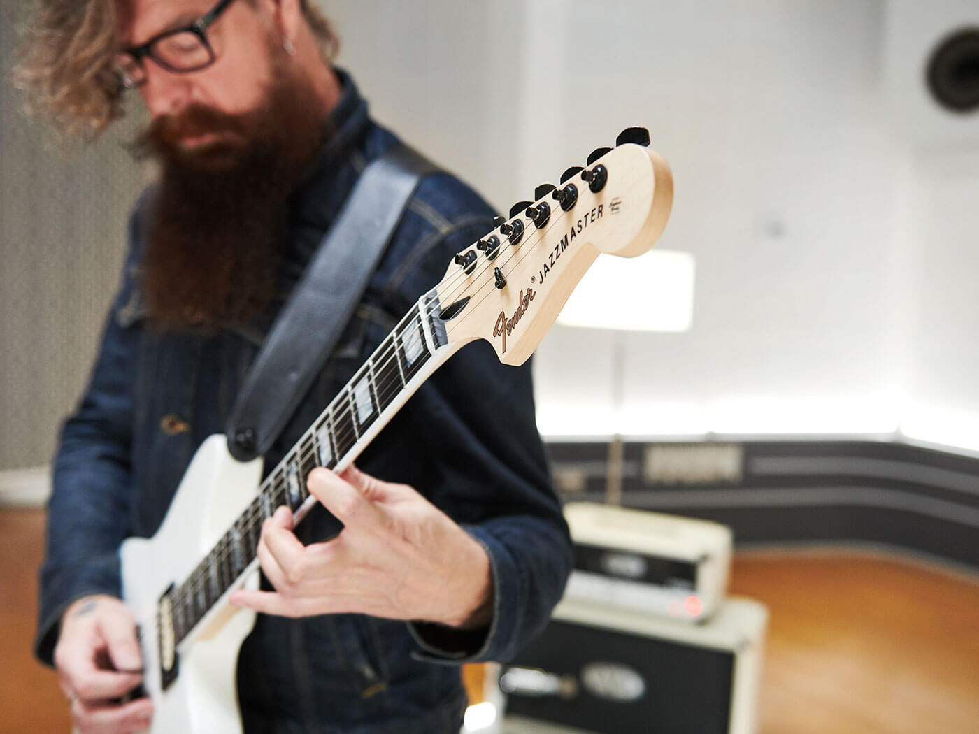 The Jim Root Jazzmaster V4
