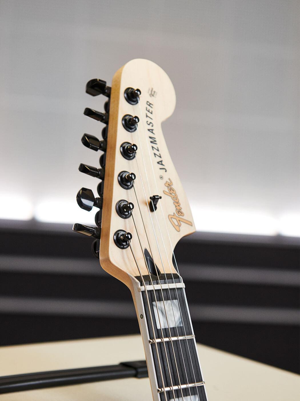 The Jim Root Jazzmaster V4: Headstock
