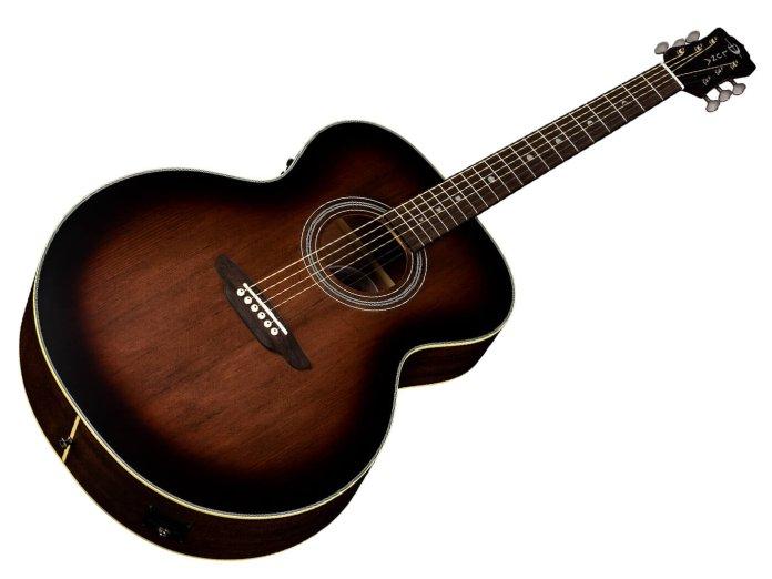 Luna Guitars Art Vintage Jumbo