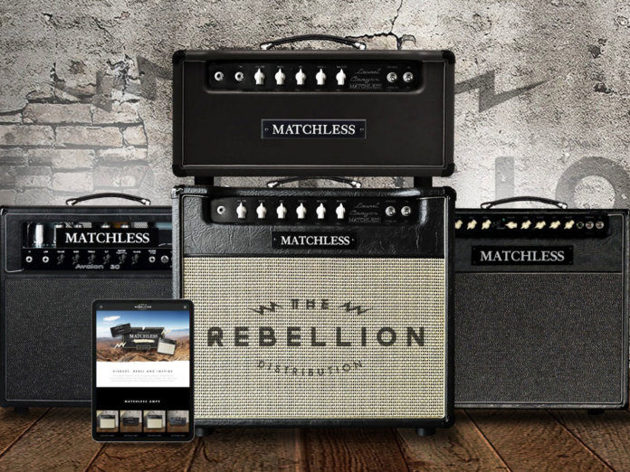 Matchless Amplifiers has partnered with Rebellion Distribution
