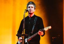 Noel Gallagher onstage
