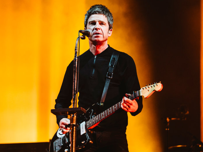 Noel Gallagher onstage