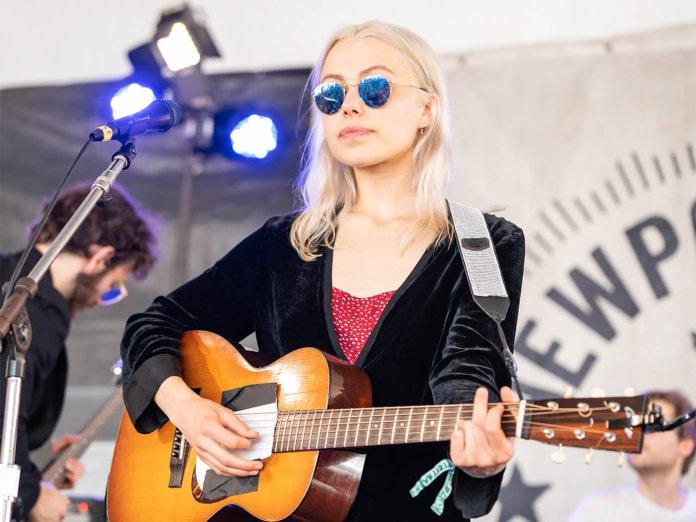 Phoebe Bridgers onstage