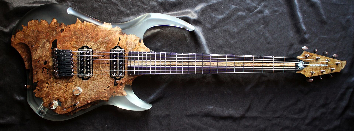 The Catalyst Stone Wolf Guitars