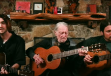 Willie Nelson and his sons