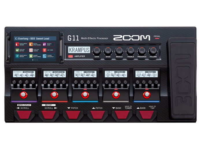 Zoom G11 Multi-effects