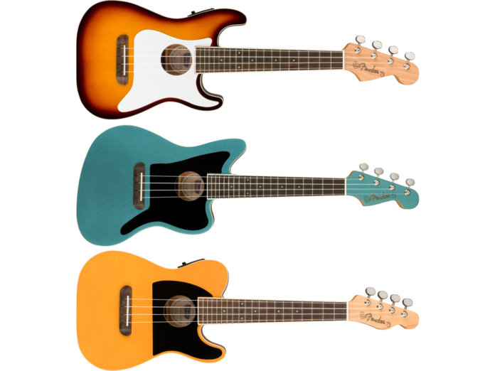 Fender's Fullerton Ukuleles