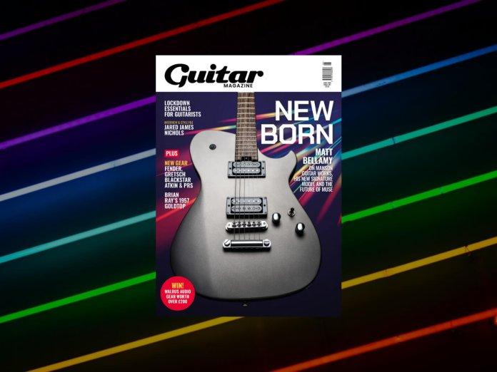 guitar magazine june 2020