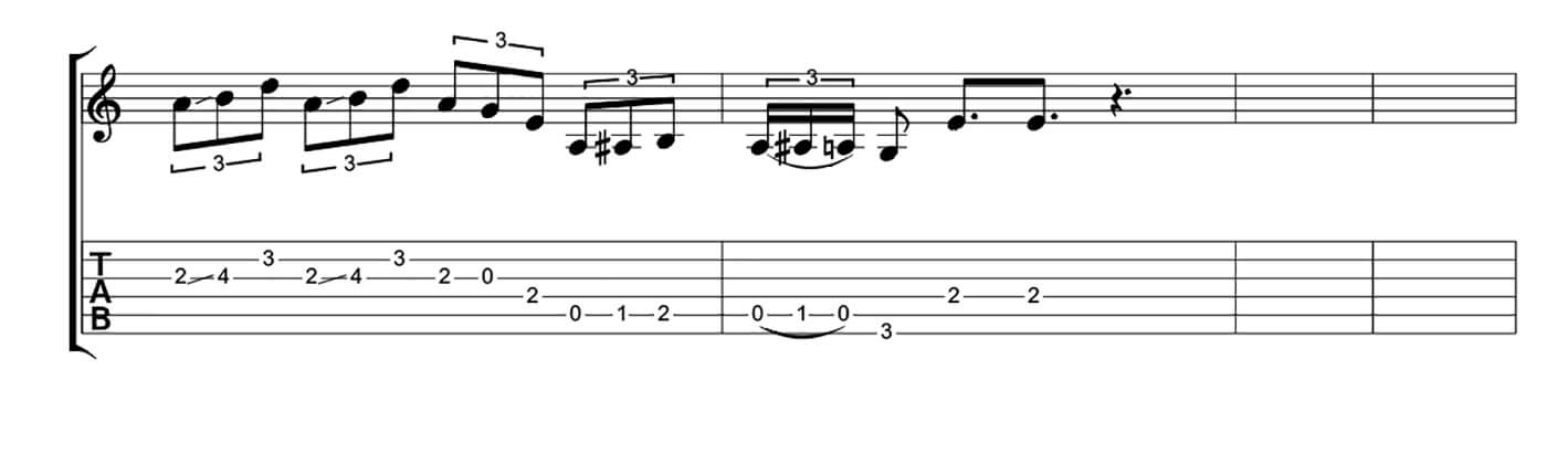 How To Play Blues Like SRV Lick 3