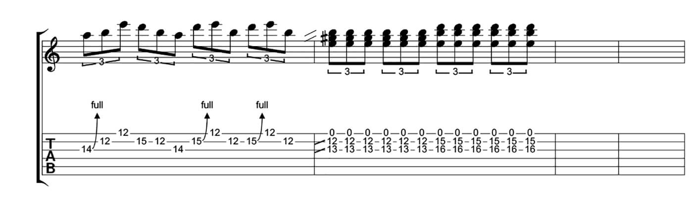 How To Play Blues Like SRV Lick 4