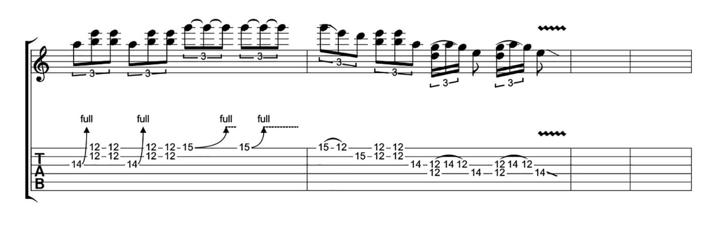 How To Play Blues Like SRV Lick 5