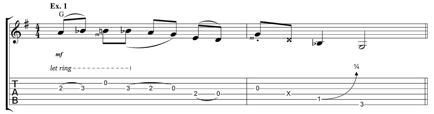 Learn to play country Ex 1