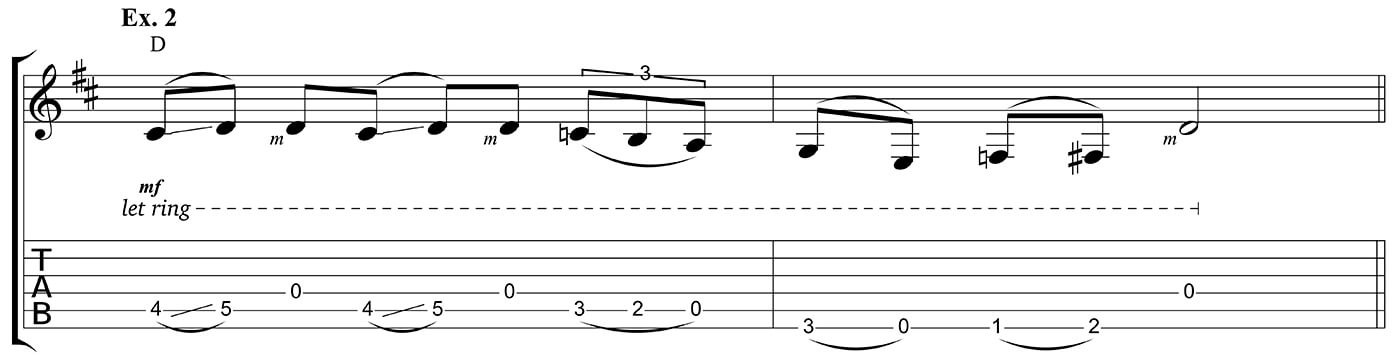 Learn to play country Ex 2