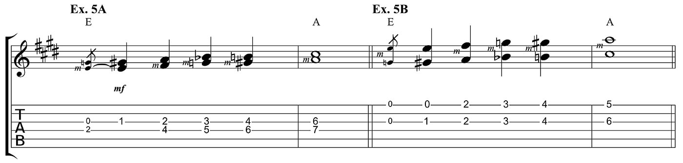 Learn to play country Ex 5 A & B