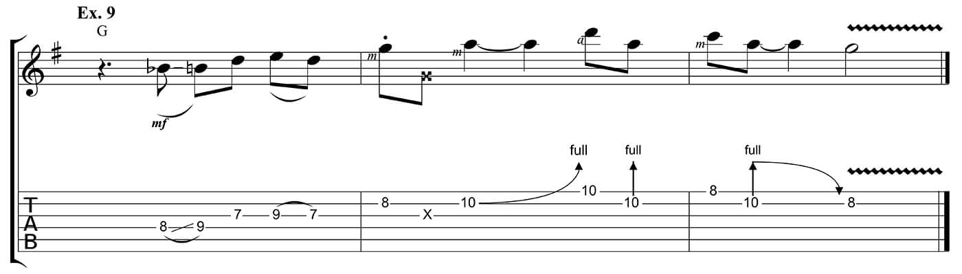 Learn to play country Ex 9