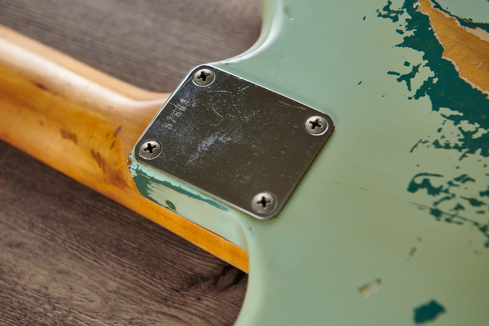 Fender Jazzmaster 1960 Neck Joint