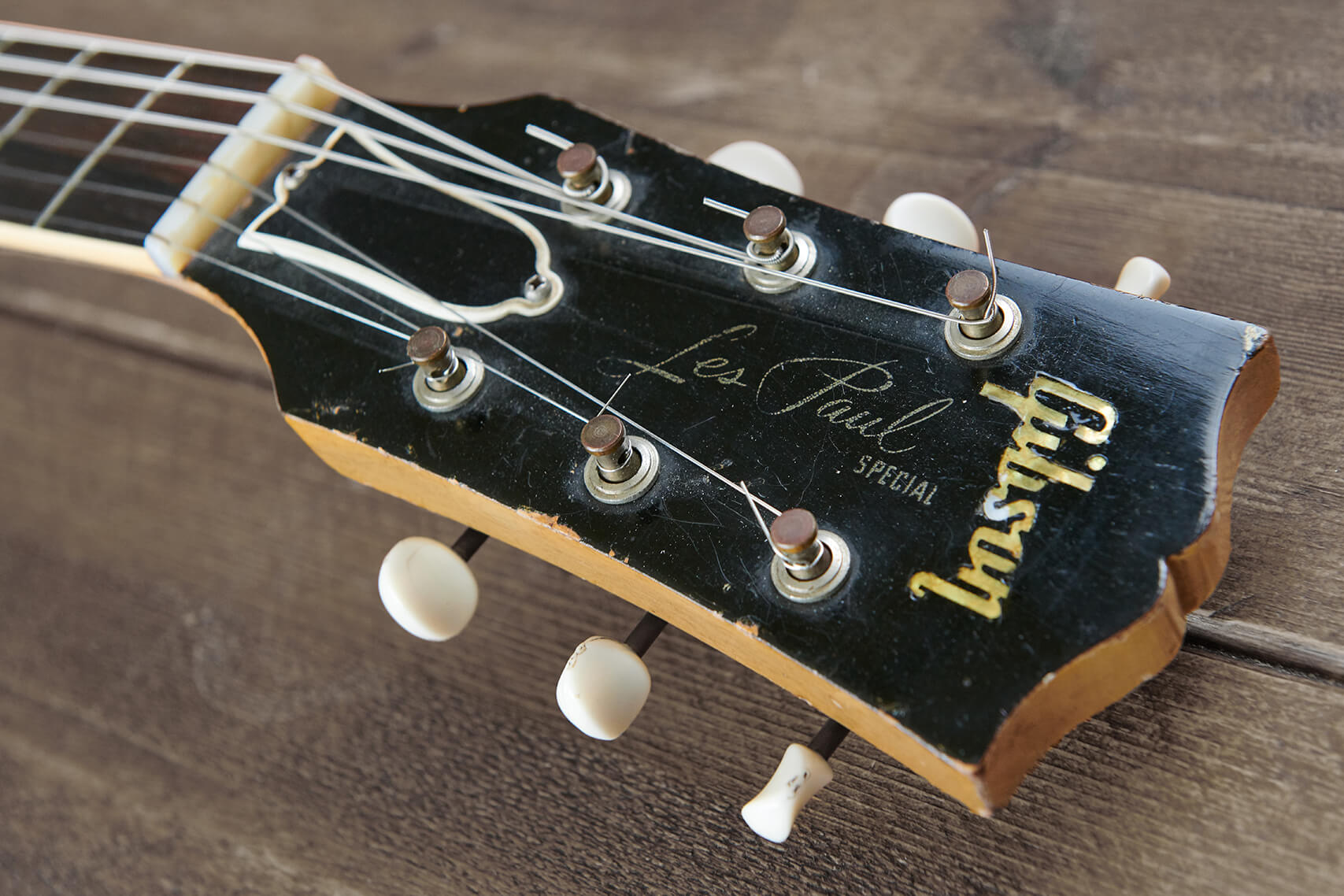Gibson Les Paul TV Special Headstock