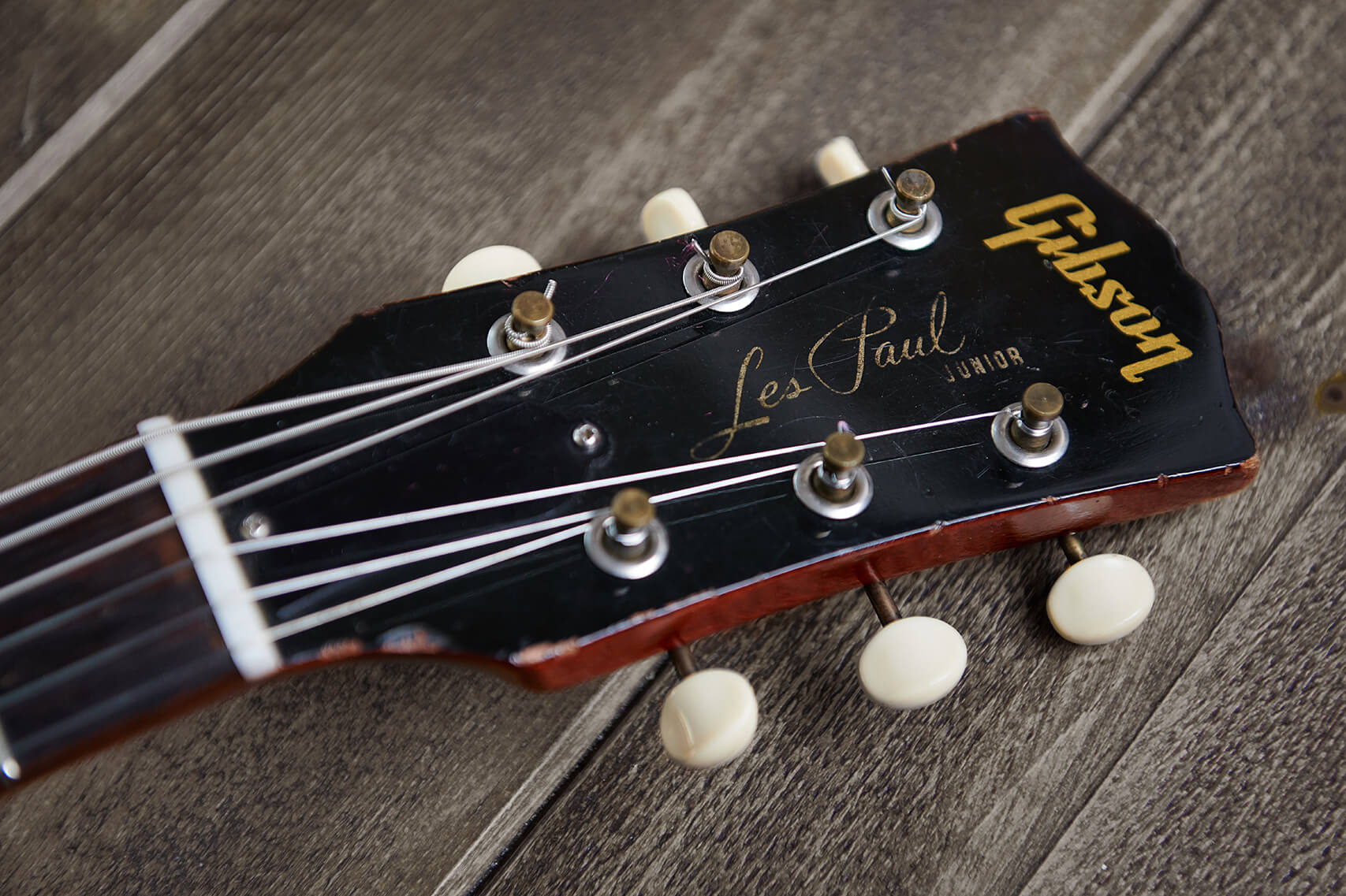 Gibson Les Paul SG Jr Headstock