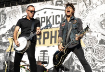 Drop Kick Murphys onstage