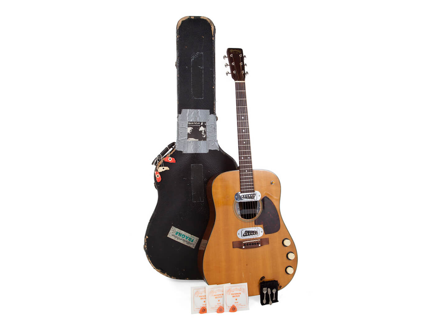 kurt cobain's guitar auction kit