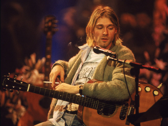 Kurt Cobain's Martin guitar from MTV Unplugged goes up for ...