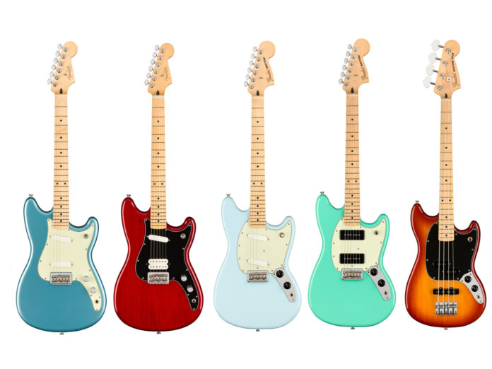The new Fender Player Guitars