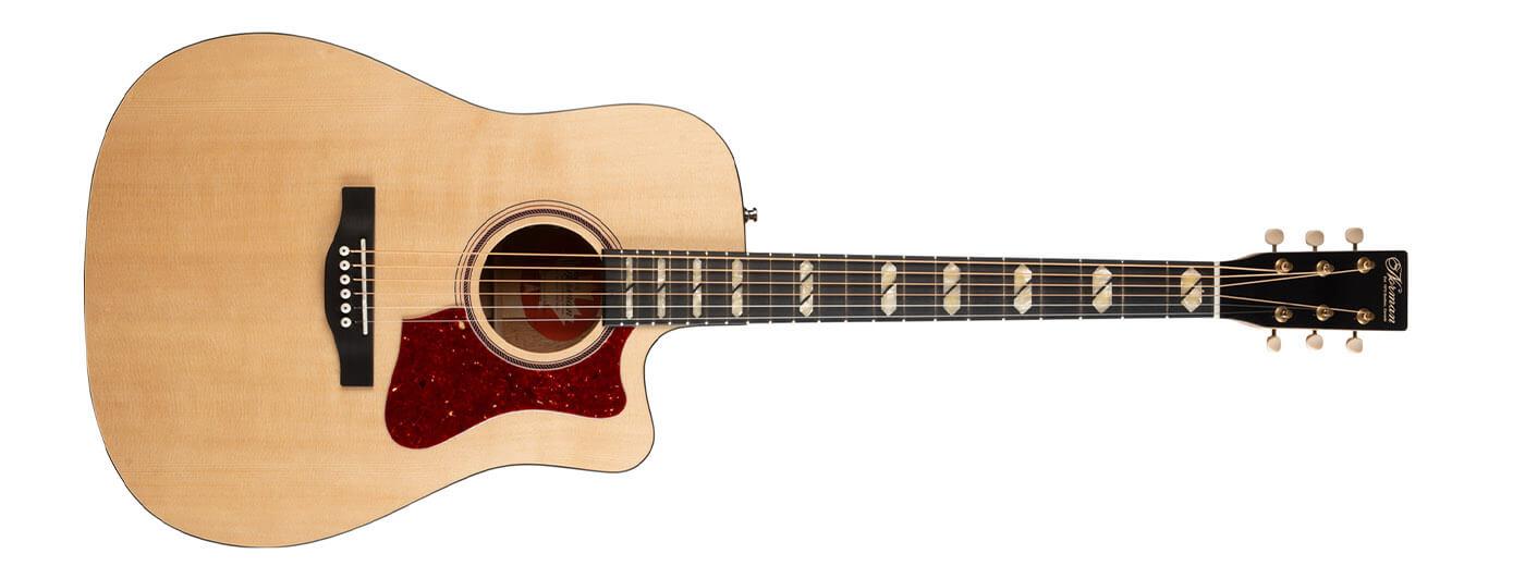 norman guitars st40 cutaway