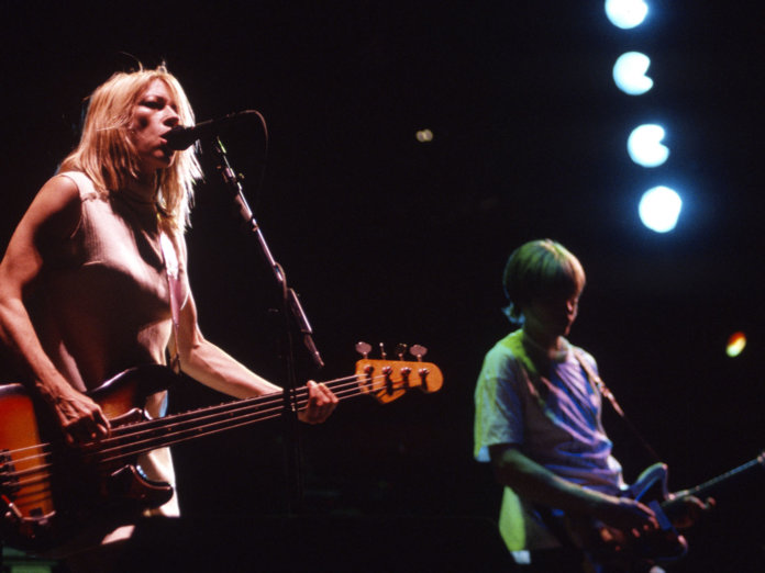Sonic Youth performing live