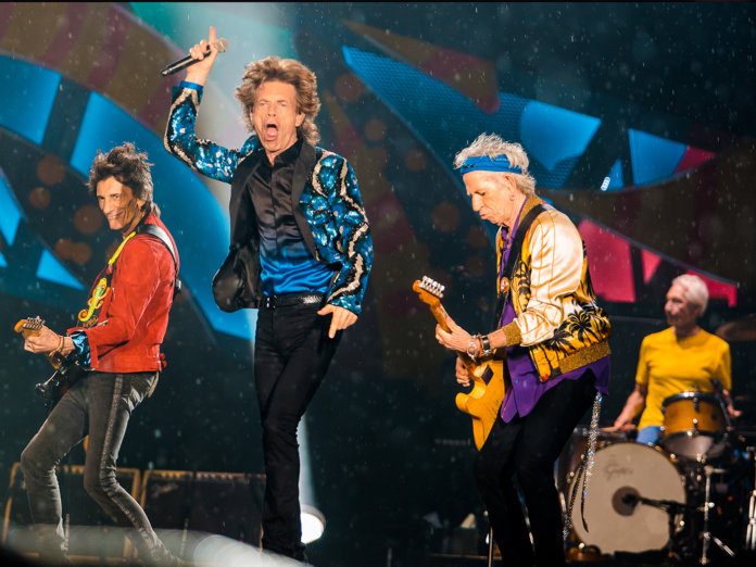 Rolling Stones onstage 2016