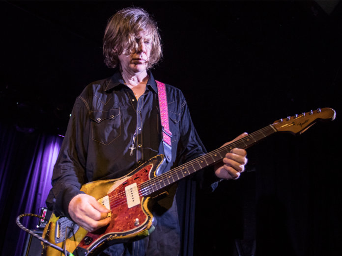 Thurston moore onstage with the Thurston Moore Group