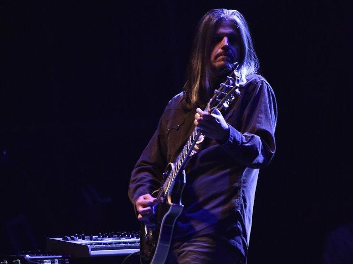 Adam Jones of Tool onstage