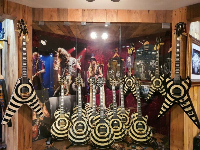 Part of the world's largest Zakk Wylde collection