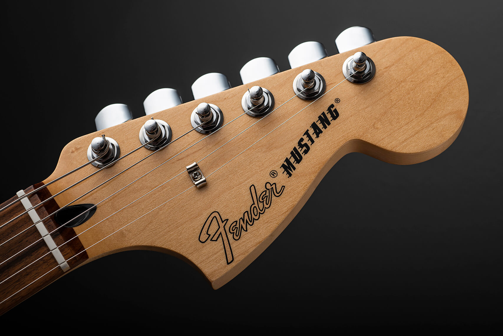 Fender Player Mustang Headstock