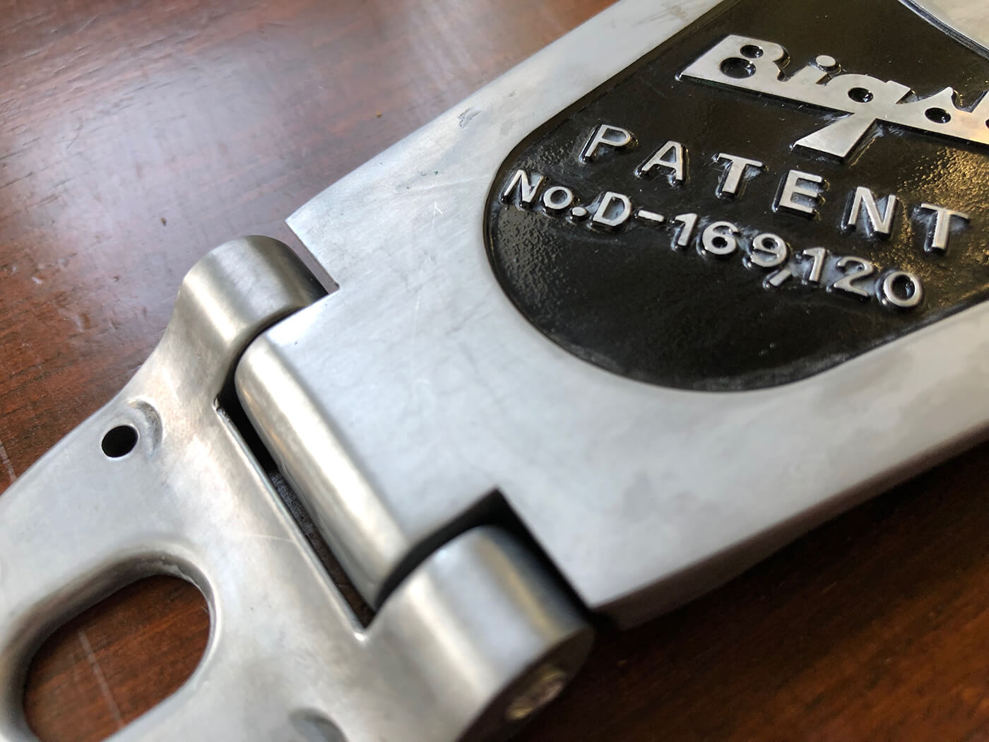 How to age your bigsby tailpiece 13