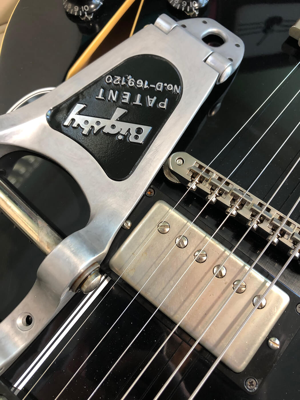 How to age your bigsby tailpiece 17