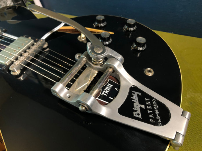 How to age your bigsby tailpiece 21