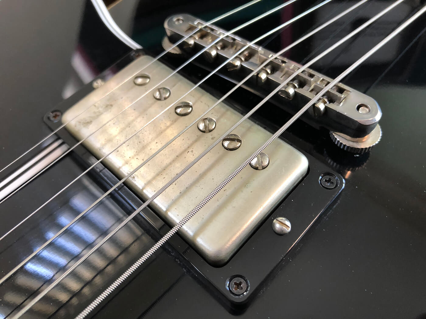 How to age your bigsby tailpiece 6