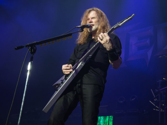 Dave Mustaine Onstage