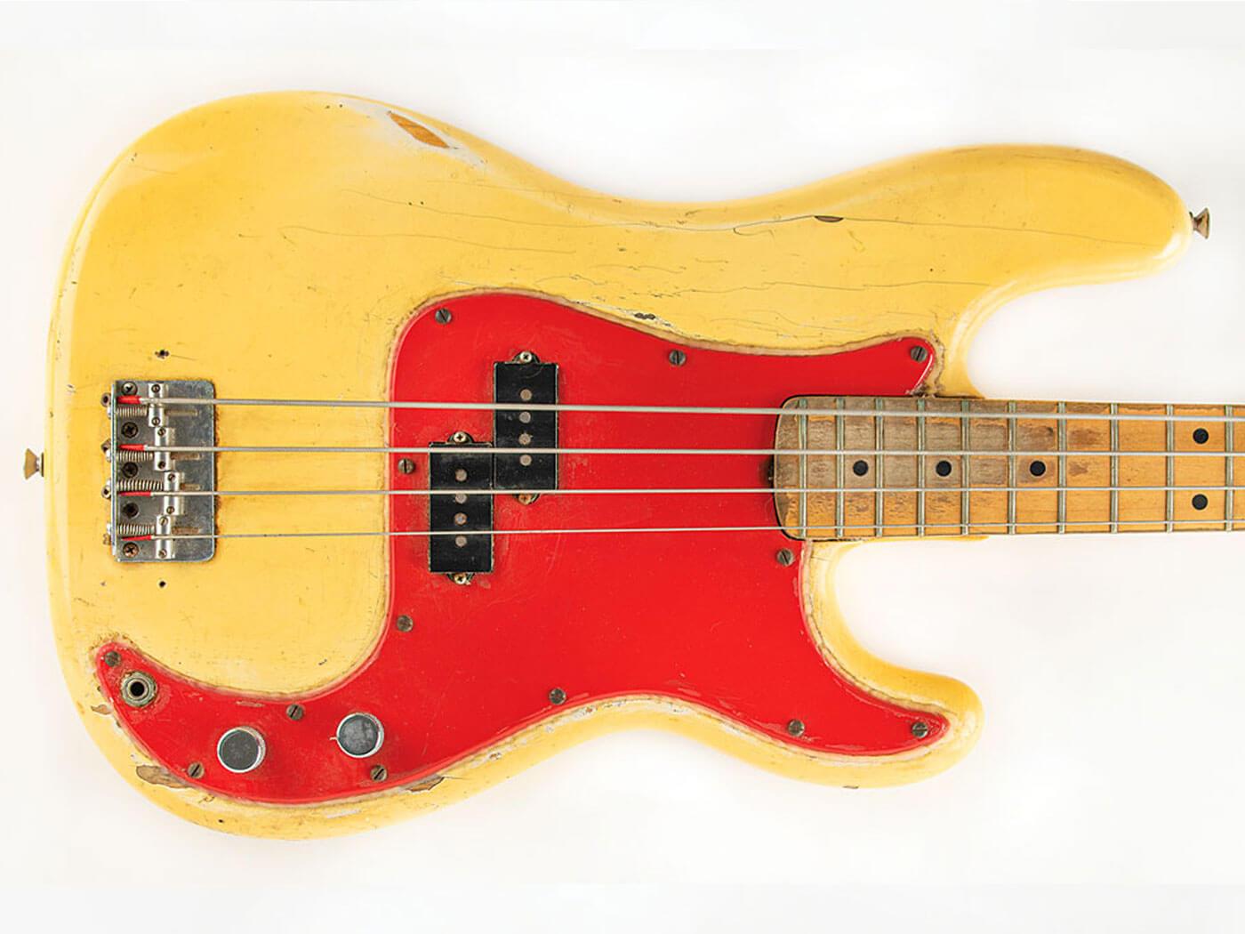 Dee Dee Ramone's bass