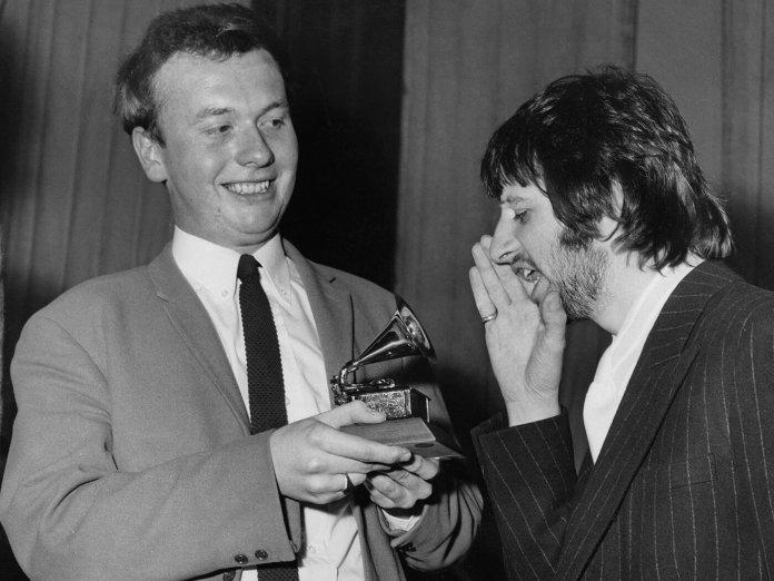 Geoff Emrick and Ringo Starr